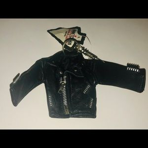 New Minnekota Leather Key Chain Motorcycle Jacket